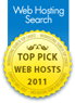 Gandi Top Pick Web Host 2011